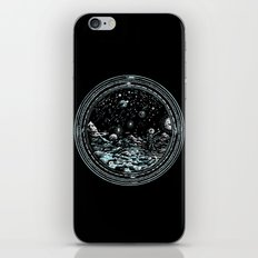 Miniature Circle Landscape 2: Astronausea.. iPhone & iPod Skin