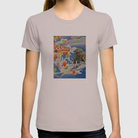 In the Clouds Womens Fitted Tee Cinder SMALL