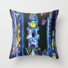 Broad Street New Years Throw Pillow