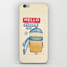 Cheeky Bird iPhone & iPod Skin