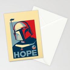 Boba Fett for president  Stationery Cards