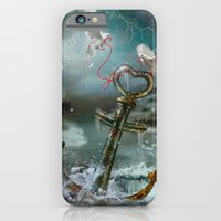 Red String of Fate / Red Thread of Destiny / Soulmate  iPhone 6 Slim Case