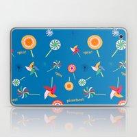 Spin! Pinwheel Spin! Laptop & iPad Skin