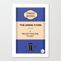 The Angel's Kiss Canvas Print