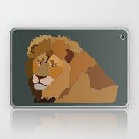 African Lion Laptop & iPad Skin