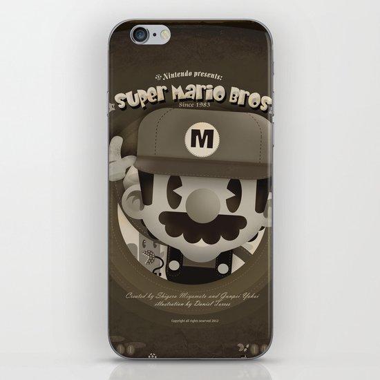 Mario Bros Fan Art iPhone & iPod Skin