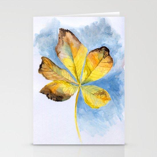 Autumn Stationery Card