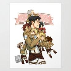 Levi's Squad Art Print