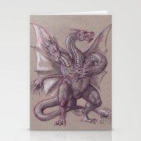 Monster Zero Stationery Cards