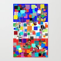 Viva La France Equinox E… Canvas Print