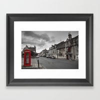 The Red Lion at Chipping Camden  Framed Art Print