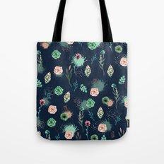 Estampa Suculenta Tote Bag