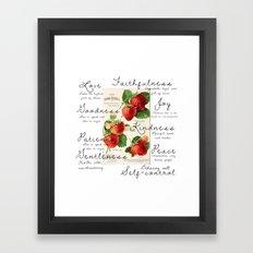 Fruit Of The Spirit Expl… Framed Art Print
