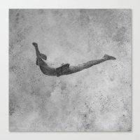 dive Canvas Print