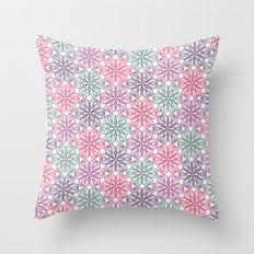 PAISLEYSCOPE tile Throw Pillow