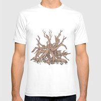 Driftwood Mens Fitted Tee White SMALL