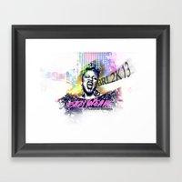Jesus Geek Framed Art Print