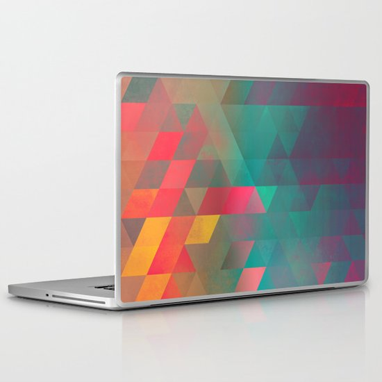 byych fyre Laptop & iPad Skin