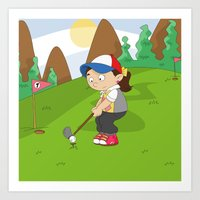 Non Olympic Sports: Golf Art Print
