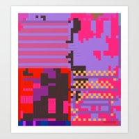 taintedcanvas54 Art Print