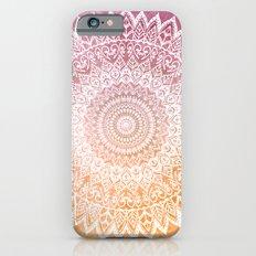SUMMER LEAVES MANDALA Slim Case iPhone 6s