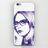 Cara In The City iPhone & iPod Skin
