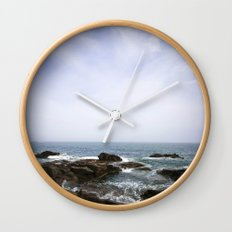Acadia View - Ocean Scene  Wall Clock