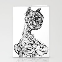 Feline Sentient Stationery Cards
