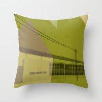 St. Jamestown Branch Throw Pillow
