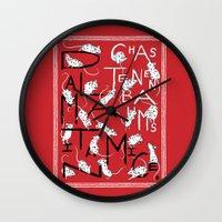 Chaz Tenenbaum's Dalmatian Mice Wall Clock