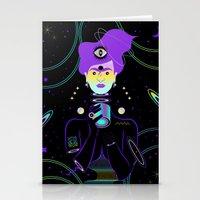 Cosmic Frida Stationery Cards
