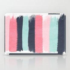 Cecily - abstract paint brush strokes paintbrush brushstrokes boho chic trendy modern minimal  iPad Case