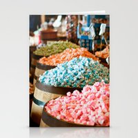 Salt Water Taffy Stationery Cards