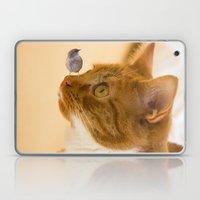 cat and Bird Laptop & iPad Skin