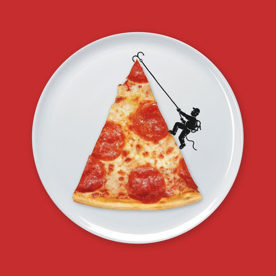 Pizza Topping Art Print
