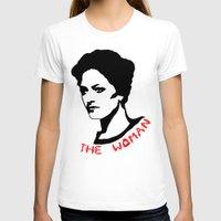 Irene Adler Womens Fitted Tee White SMALL