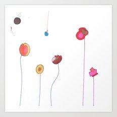 Floral Decorative Art Print