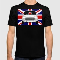 Classic Mini. Mens Fitted Tee Black SMALL