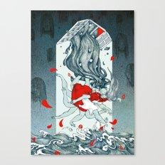 Saint Depression Canvas Print
