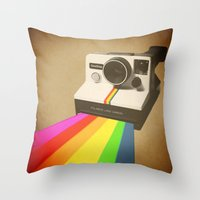 Focus Fondly Throw Pillow