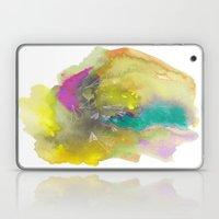 Planes In Watercolor Laptop & iPad Skin