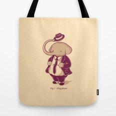 Eleg-phant Tote Bag