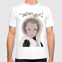 It's Britney Bitch! Digi… Mens Fitted Tee White SMALL