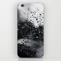 'Side View Rain' iPhone & iPod Skin