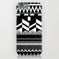iPhone & iPod Case featuring Graphic_Black&white #2 by Anna Rosa