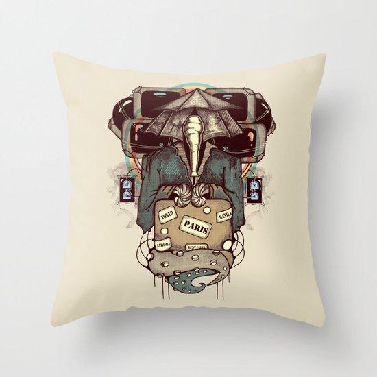 Transcendental Tourist Throw Pillow