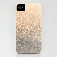 iPhone 4s & iPhone 4 Cases featuring  GOLD by Monika Strigel