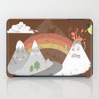 Volcano Fact iPad Case