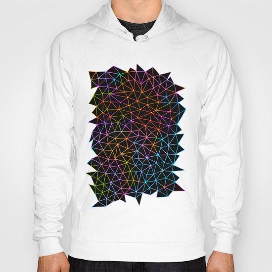 Geometric Glow Hoody