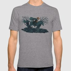 What Fearful Pranks Ensue Mens Fitted Tee Athletic Grey SMALL